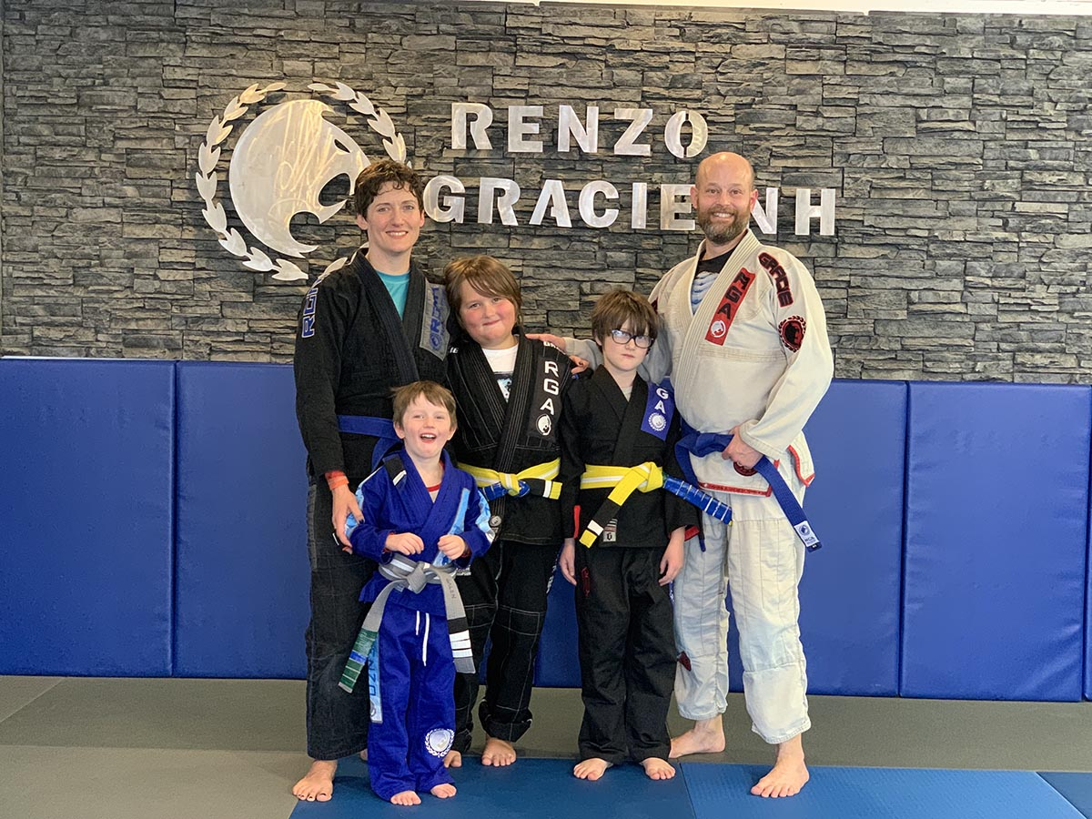 Renzo Gracie NH has training programs for kids to adults and prides itself on being a family friendly training facility